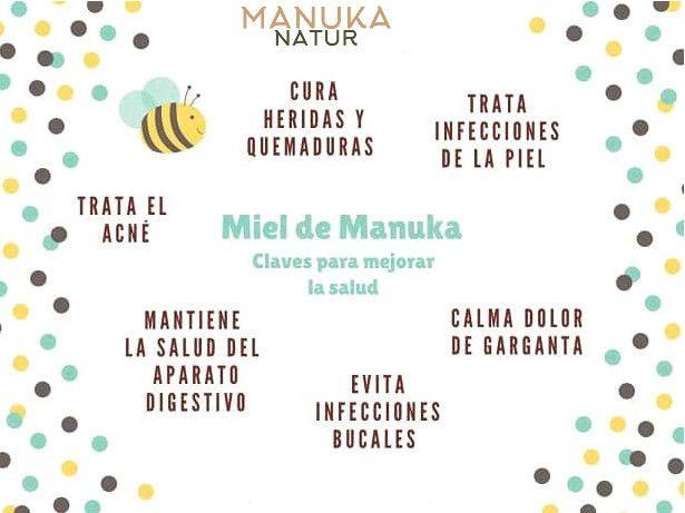 8 Claves para mejorar la salud con miel de Manuka