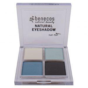Sombra de ojos azul Quattro True Blue ecológica de Benecos