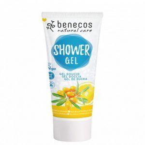 Gel de ducha natural con Espino Amarillo y Naranja de Benecos