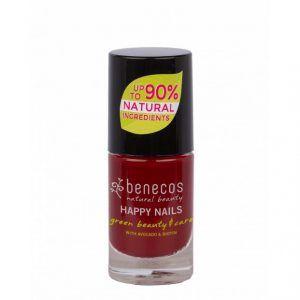 Esmalte de uñas 8 Free Cherry Red de Benecos