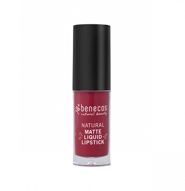 Labial liquido mate Bloody Berry eco de Benecos
