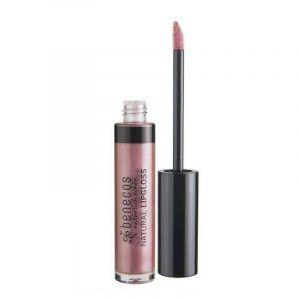 Brillo de labios rosa de Benecos