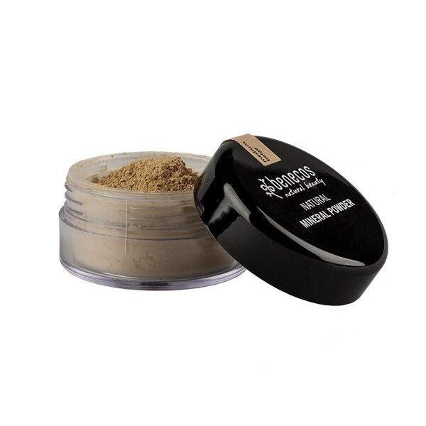 Maquillaje en polvo suelto Beige medio vegano de Benecos
