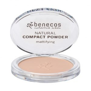 Maquillaje en polvos compactos Arena vegano de Benecos