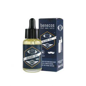 Aceite para barba de hombre ecológico de Benecos
