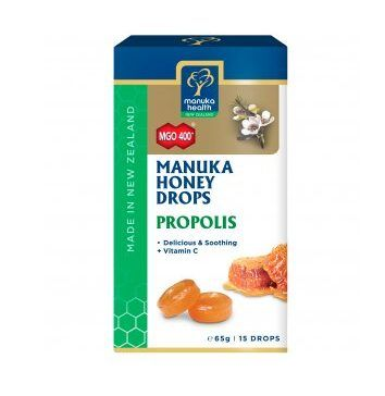 Caramelos de Miel de Manuka y Propóleo de Manuka Health