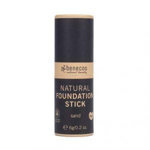 Base de maquillaje en barra Sand ecológico de Benecos