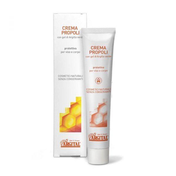Crema de prop贸leo protectora de la piel