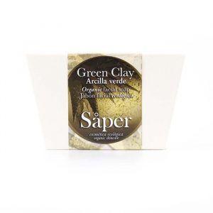 Jabón para la cara de Arcilla Verde ecológico
